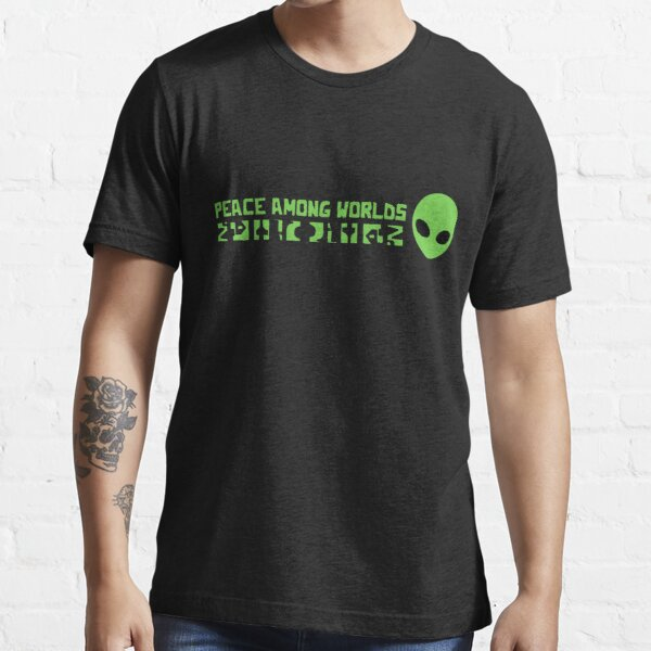 T-Shirt Homme Femme Rick and Morty Peace Among Worlds Fuck