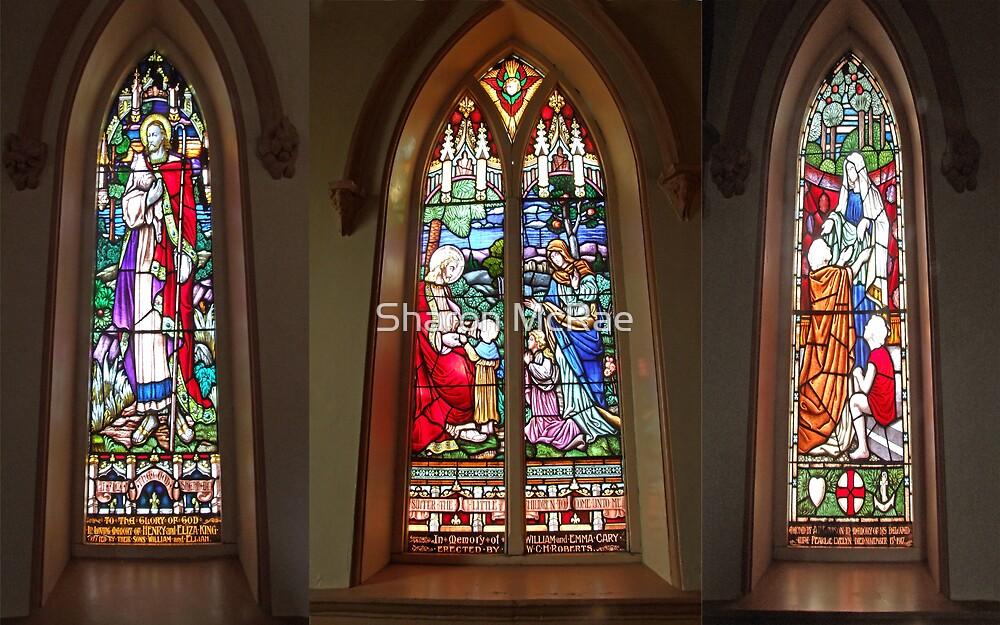 Church Windows by SharonD