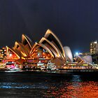 Sydney, Opera House from Milsons Point by andreisky