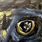 "ancient bird....watchful ""Crow"" eye (read artist notes) by banrai"