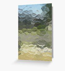 Marbled Landscape Greeting Card