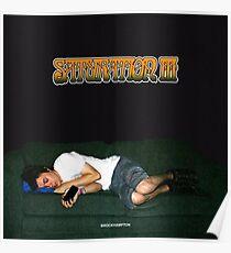 """""""Saturation 3"""" - BROCKHAMPTON Poster"""