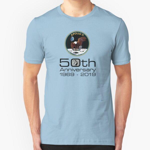 Apollo 11 - celebrate the 50th anniversary of moon landing #3 Slim Fit T-Shirt