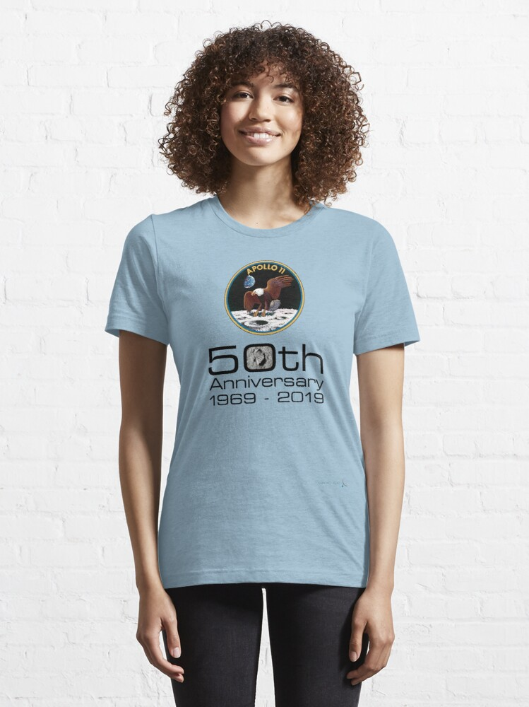 Alternate view of Apollo 11 - celebrate the 50th anniversary of moon landing #3 Essential T-Shirt