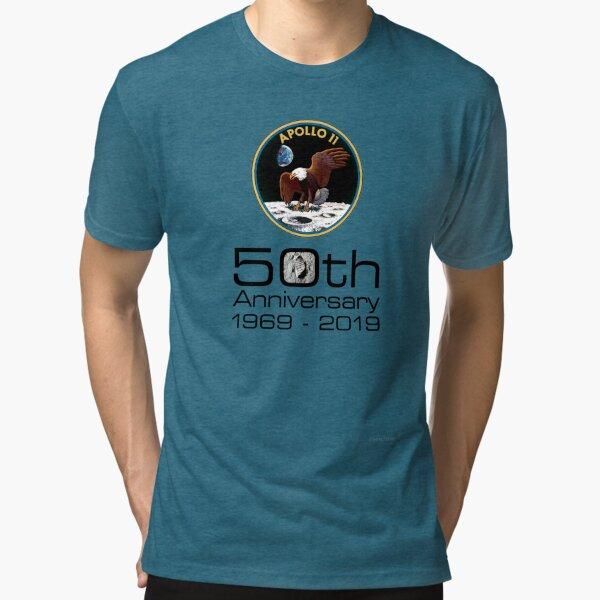 Apollo 11 - celebrate the 50th anniversary of moon landing #3 Tri-blend T-Shirt