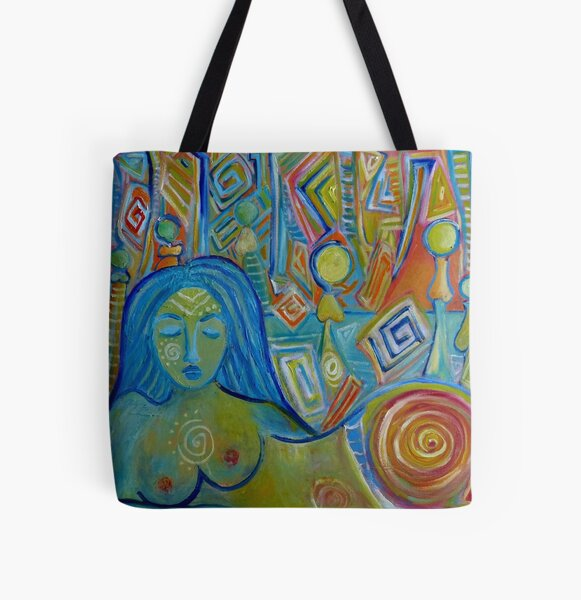 Meditation All Over Print Tote Bag