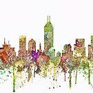 Indianapolis, Indiana-Skyline SG - verblaßter Ruhm von Marlene Watson