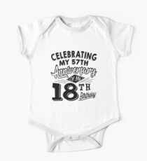 Funny 75th Birthday Celebration Gag Gift 75 Year Old Kids Clothes