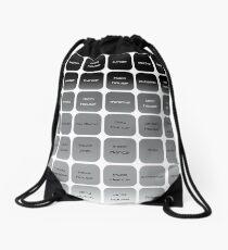 EDM Subgenres Drawstring Bag