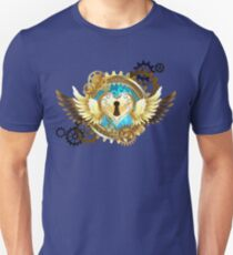 Closed Heart ( Steampunk Gold Heart ) T-Shirt