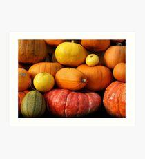 Bumpin Pumpkins Art Print