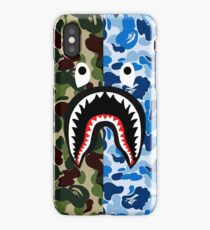 A Bathing Ape Blue Shark iPhone Case/Skin