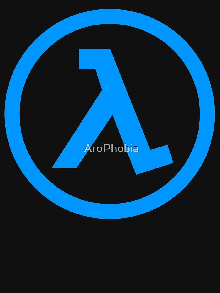Half Life Lamba Logo Symbol Black Mesa Blue Shift Unisex T Shirt By