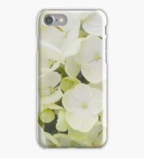 White Hydrangea iPhone Case/Skin