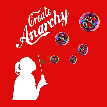 Create Anarchy Shirt Soap Bubbles by iNukeDesign