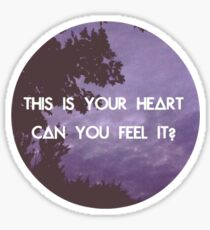 Laura Palmer - Bastille Sticker