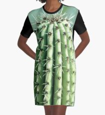 cactus photography Graphic T-Shirt Dress