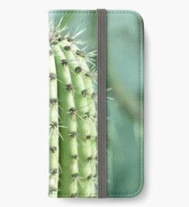 cactus photography iPhone Wallet/Case/Skin