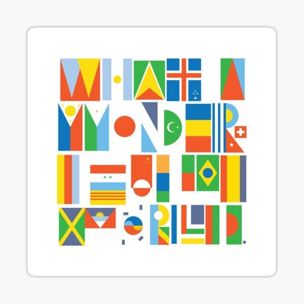 What a Wonderful World II Sticker