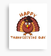 Happy thanksgiving day 2017 Design shirt Canvas Print