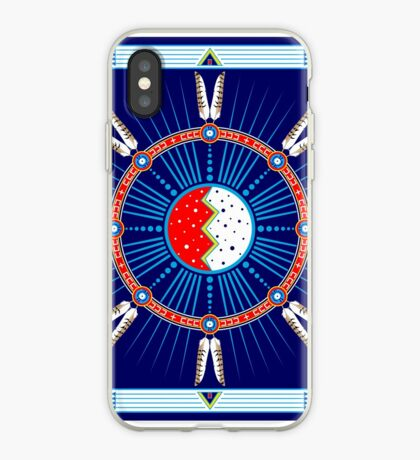 Crazy Horse Dreaming iPhone Case