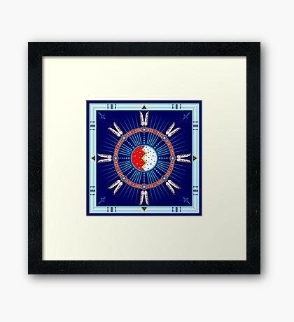 Crazy Horse Dreaming Framed Print