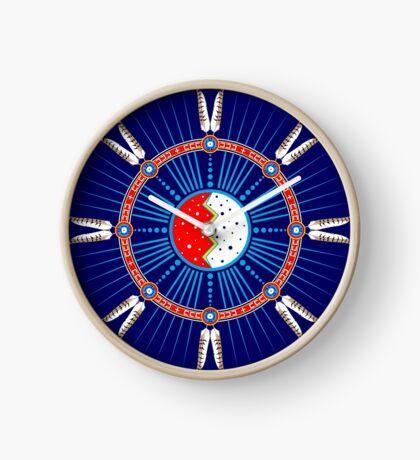 Crazy Horse Dreaming Clock