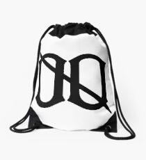 L00SE CHANGE LØØSE CHANGE BLACK Drawstring Bag