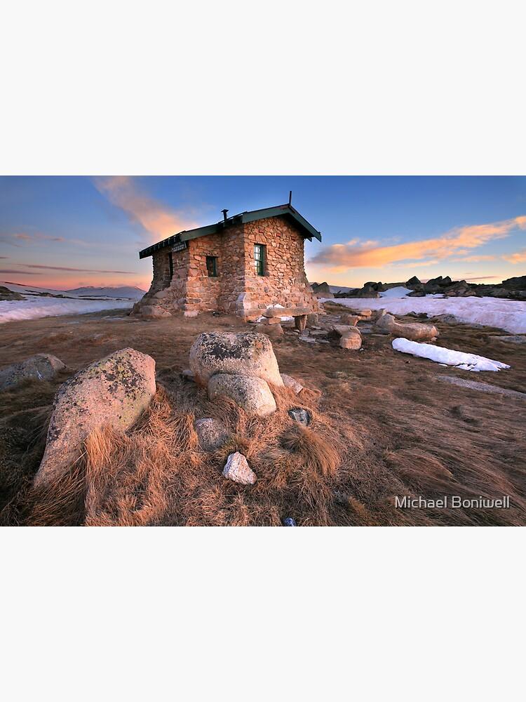Seamans Hut Dawn, Mt Kosciusko, Australia  by Chockstone