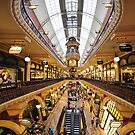 Inside the QVB by Gino Iori