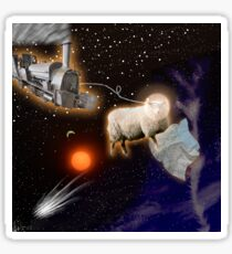 Lost in Space (Silly Sheep Style) Sticker