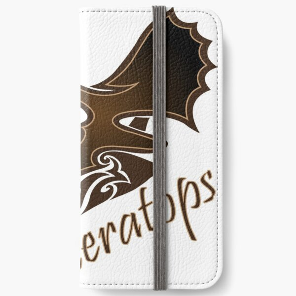 Triceratops iPhone Wallet