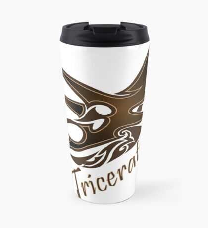 Triceratops Travel Mug