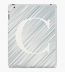 Striped C iPad Case/Skin