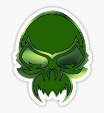 Extraterrestrial devil demon evil undead skull Sticker