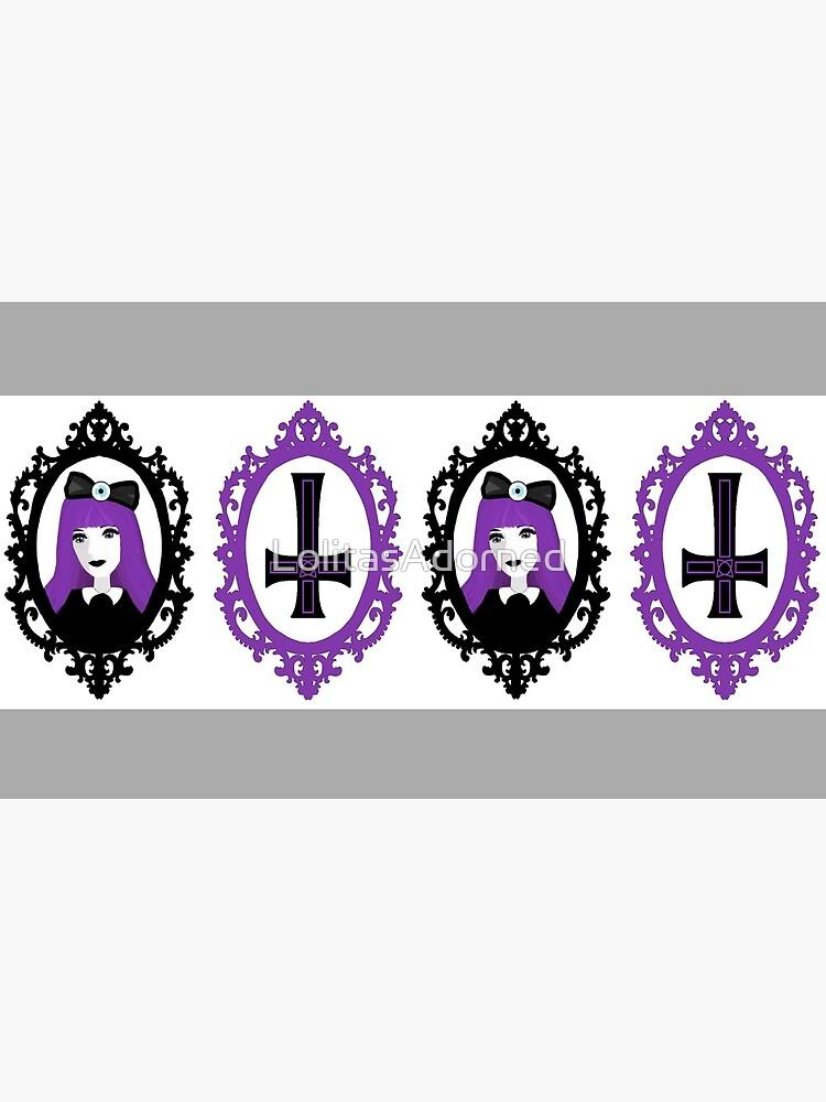 Purple Pastel Goth - Original by LolitasAdorned
