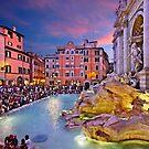 Fontana di Trevi - Rome by Hercules Milas