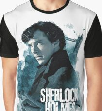 sherlock - hands on my loosening. Through a thousand panes of glass Graphic T-Shirt