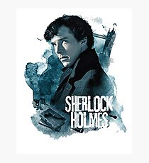 sherlock - hands on my loosening. Through a thousand panes of glass Photographic Print