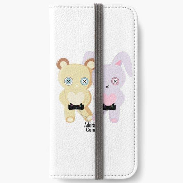 Adorable Gamer ~ Teddy & Bunny iPhone Wallet