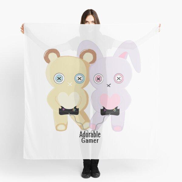Adorable Gamer ~ Teddy & Bunny Scarf