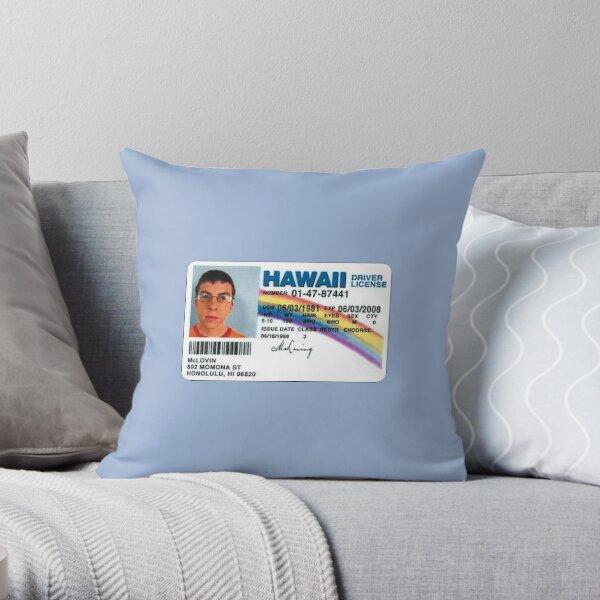 McLovin  Throw Pillow
