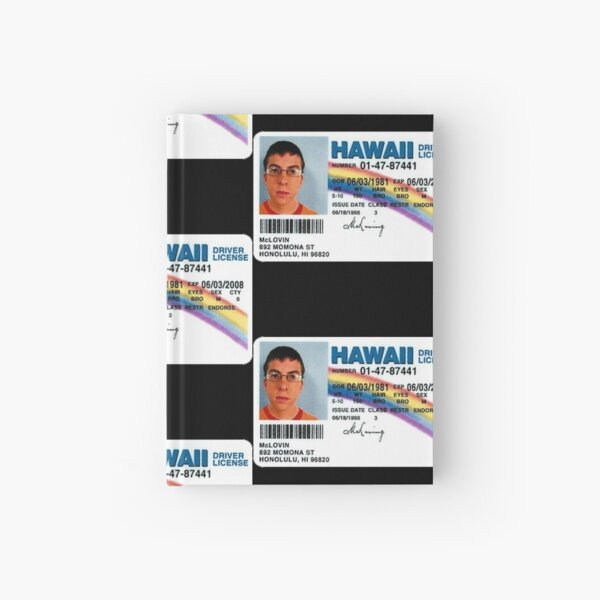 McLovin  Hardcover Journal