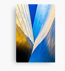 Contours of the Concert Hall Canvas Print
