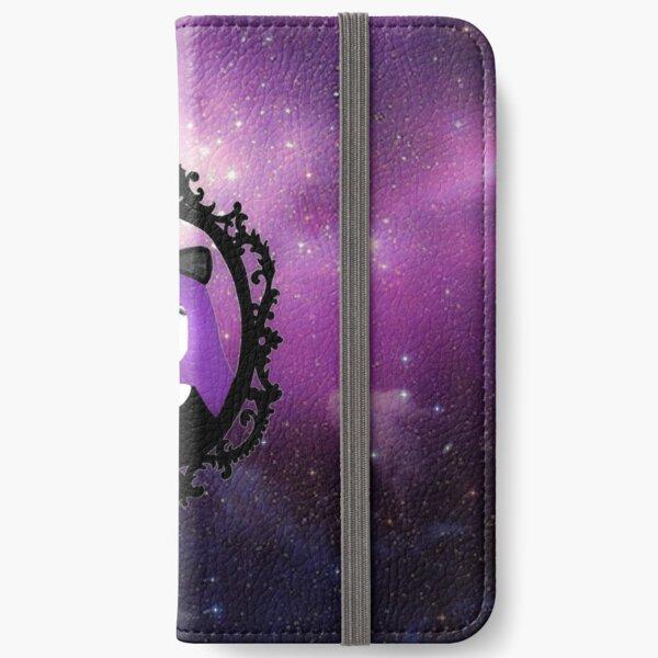 Purple Pastel Goth - Space iPhone Wallet