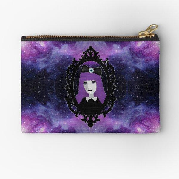 Purple Pastel Goth - Space Zipper Pouch