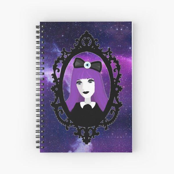 Purple Pastel Goth - Space Spiral Notebook