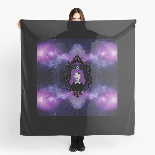 Purple Pastel Goth - Space Scarf
