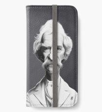 Mark Twain iPhone Wallet/Case/Skin