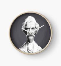 Mark Twain Clock